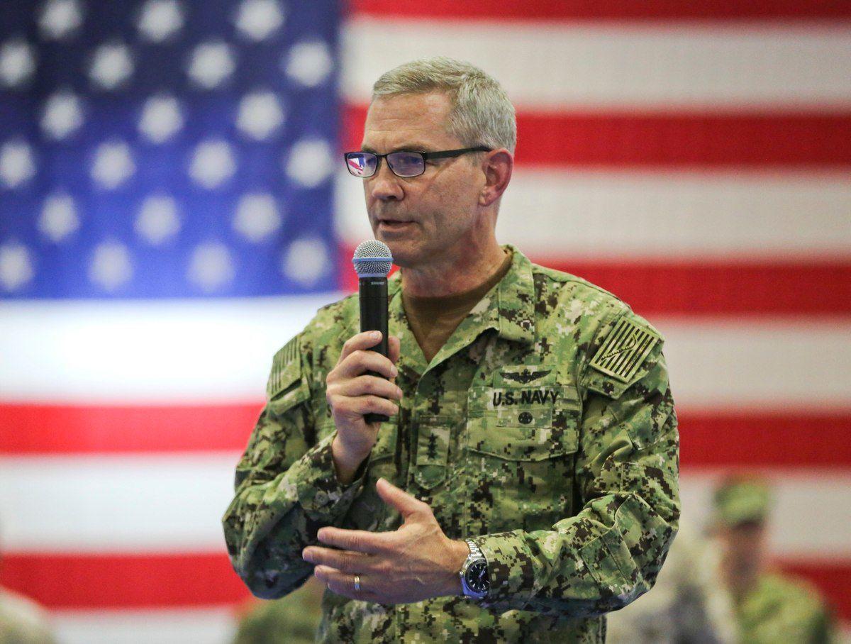 U.S. Navy Vice Adm. Scott A. Stearney