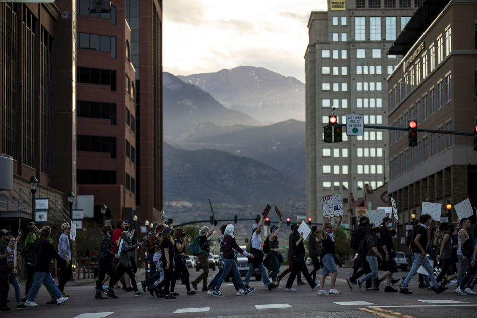 Colorado Springs college president encourages students to join protests