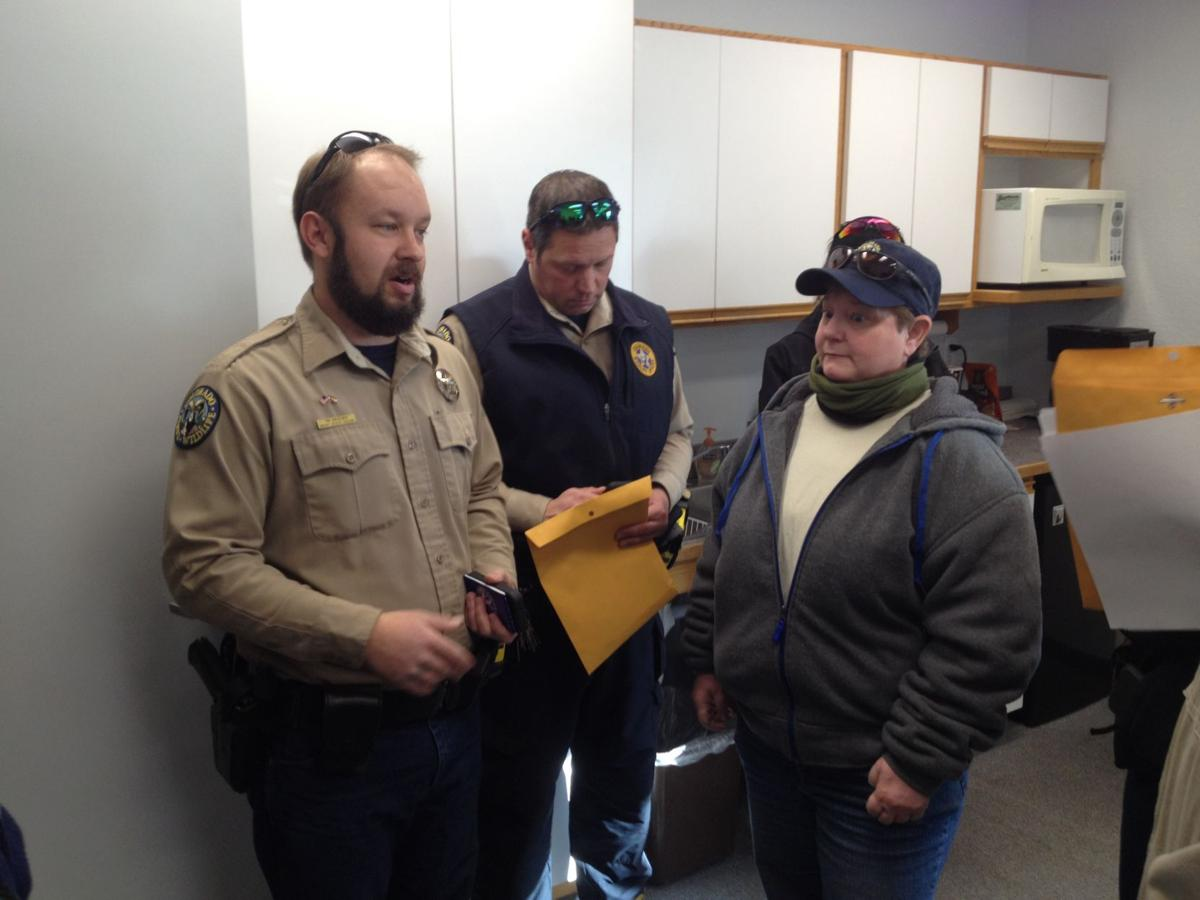 District Wildlife Manager for Teller County Tim Kroening