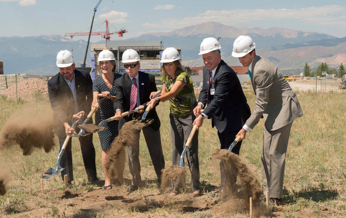 Breaking ground at the new Ronald McDonald House of Southern Colorado