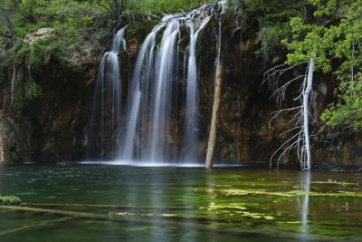 Hanging Lake Scenic Landscape Glenwood Canyon