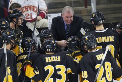 Colorado College hockey coach Mike Haviland
