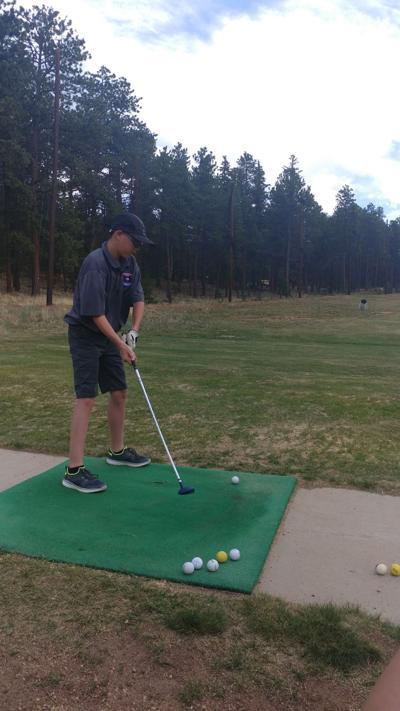 Jaden Hensley, golf tournament