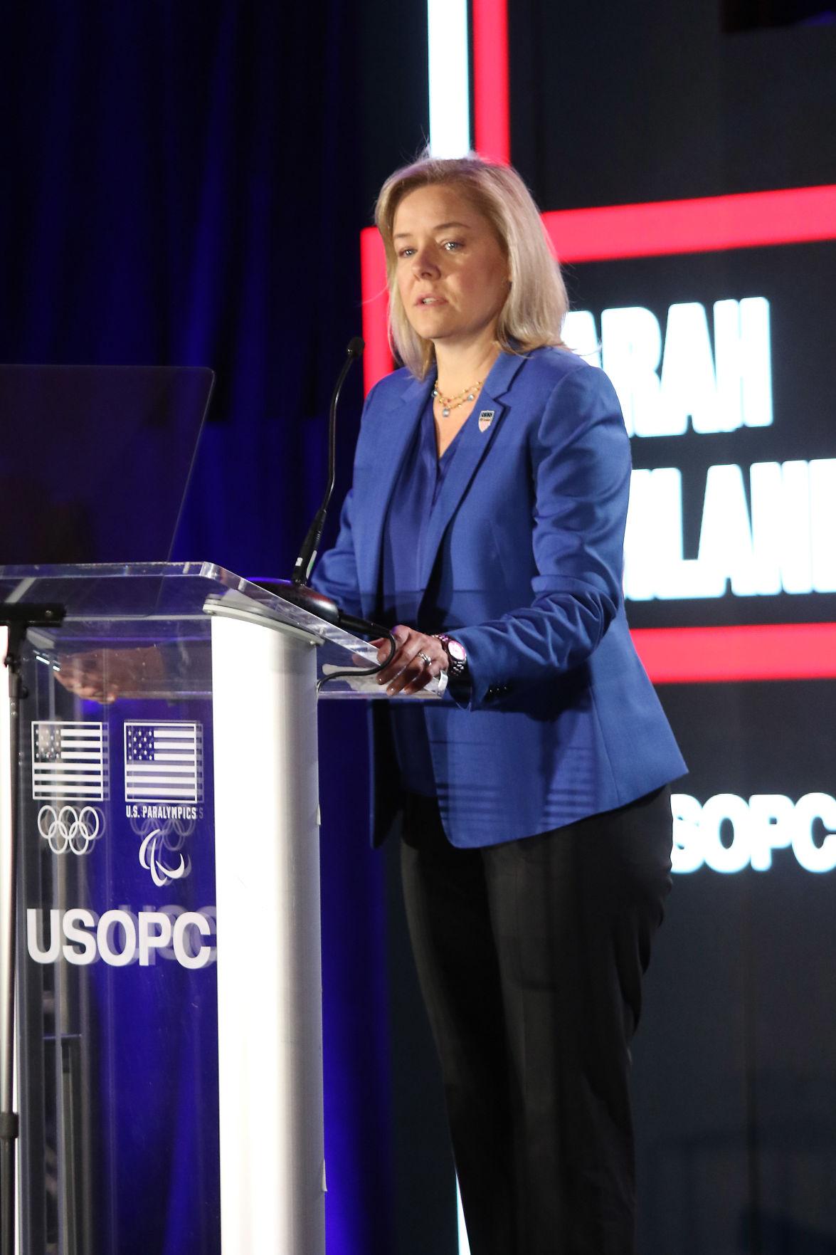 Sarah Hirshland, CEO USOPC