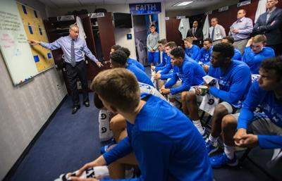 All-Access with Air Force men's basketball: Leaky bathrooms and tight defense | Paul Klee
