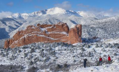 Forecast Snow Showers Possible In Colorado Springs