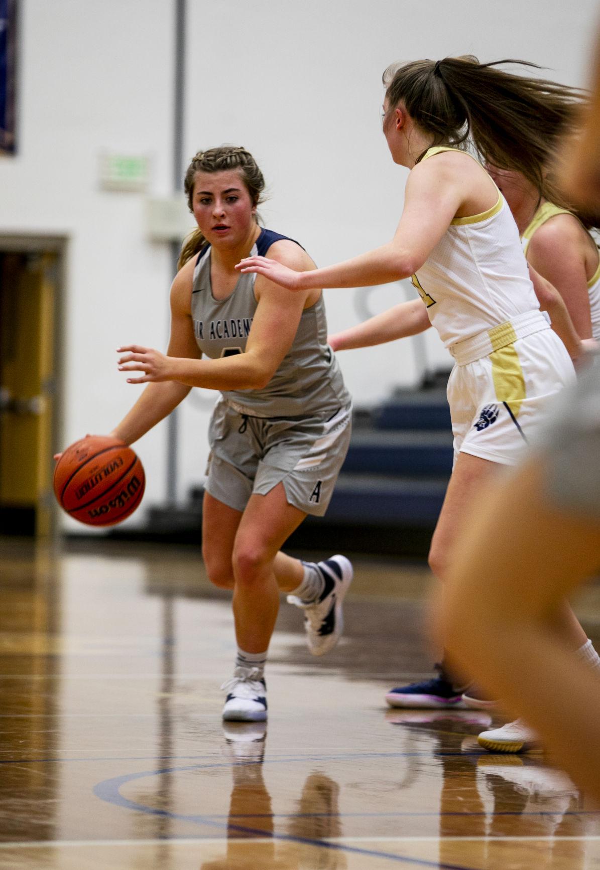 Air Academy-Palmer Ridge girls' basketball