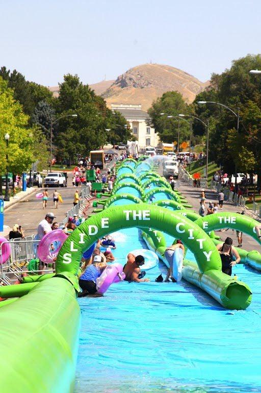 Giant slip 'n slide coming to Colorado Springs street