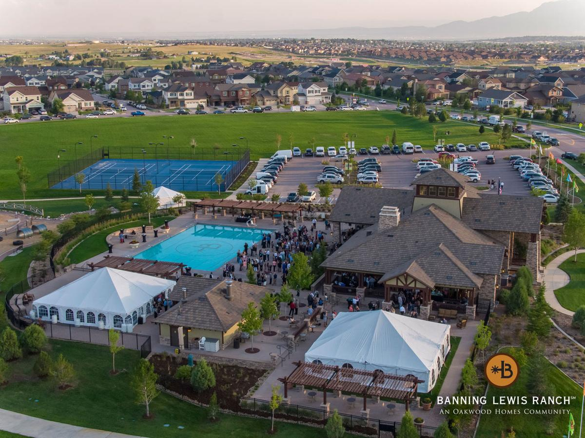 Banning Lewis Ranch aerial