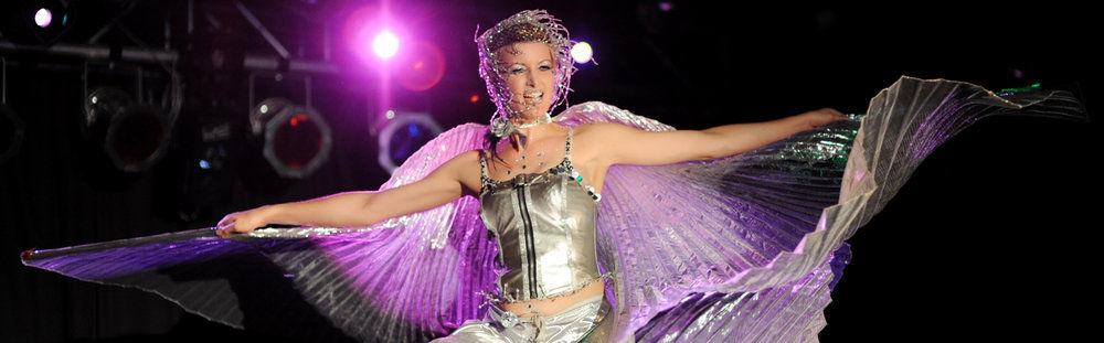 wings lady