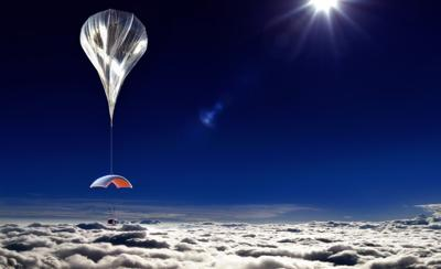 Space Perspective to take visitors through the atmosphere in balloons