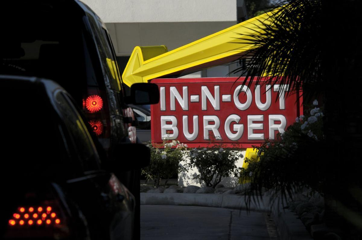 IN-N-OUT BURGER FILE PHOTO 2