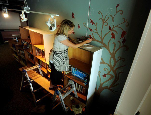 Elementary Students Help Design Schools Relocated Library