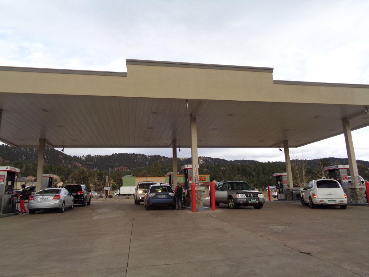 Safeway gas station in Woodland Park