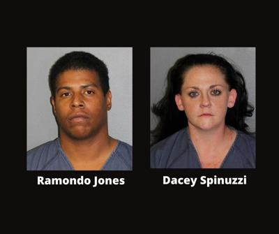 Infant death suspects - Ramando Jones and Dacey Spinuzzi