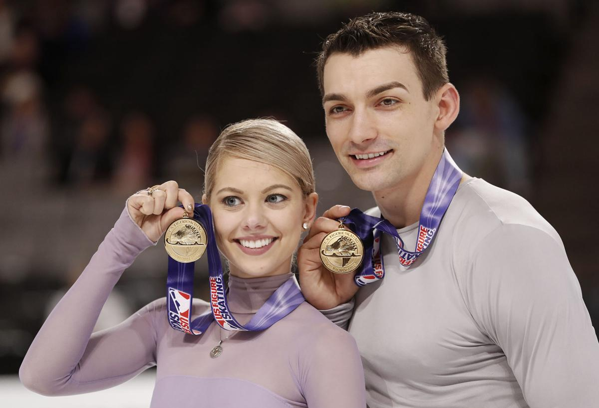 Woody Paige: Colorado Springs pairs figure skating Knierims reach Olympic goal, come what may