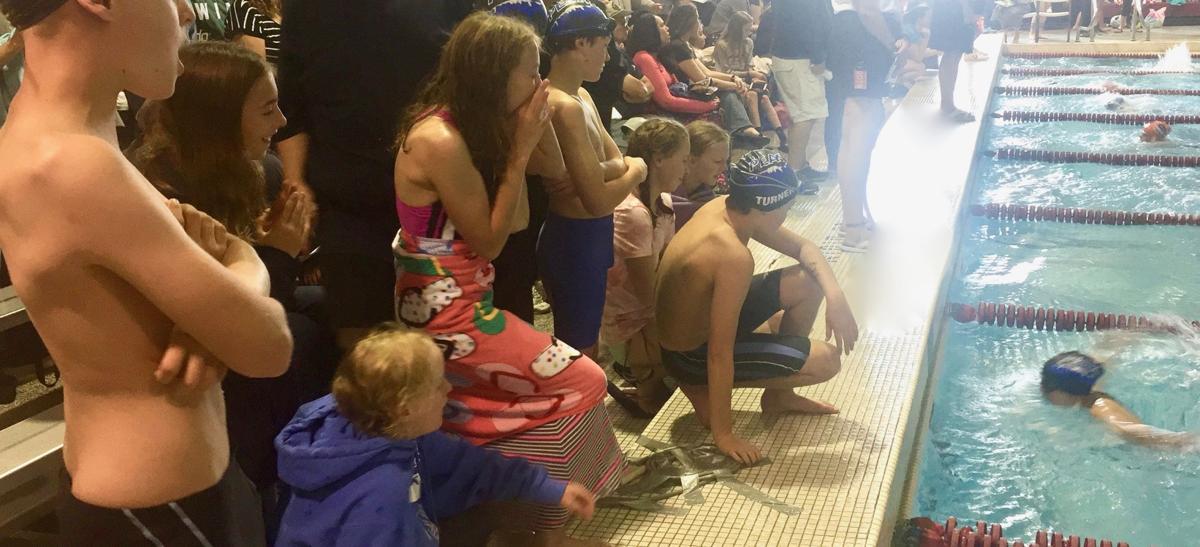 Peak Swim Team makes waves