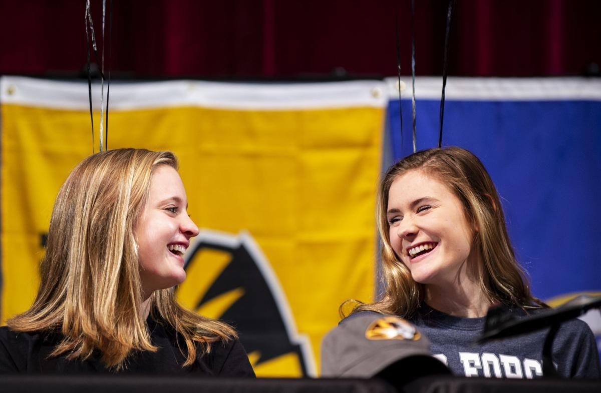 Tri-Lakes area athletes sign on to play at college level