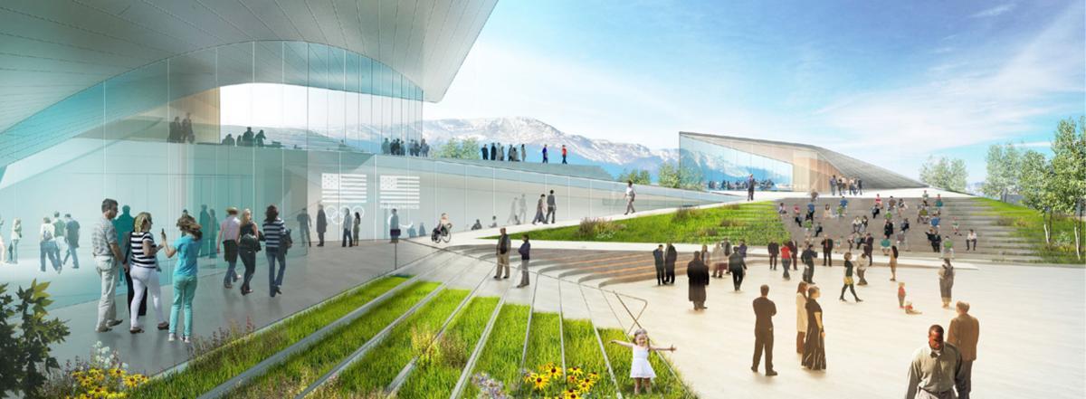 Site preparation underway for U.S. Olympic Museum in downtown Colorado Springs
