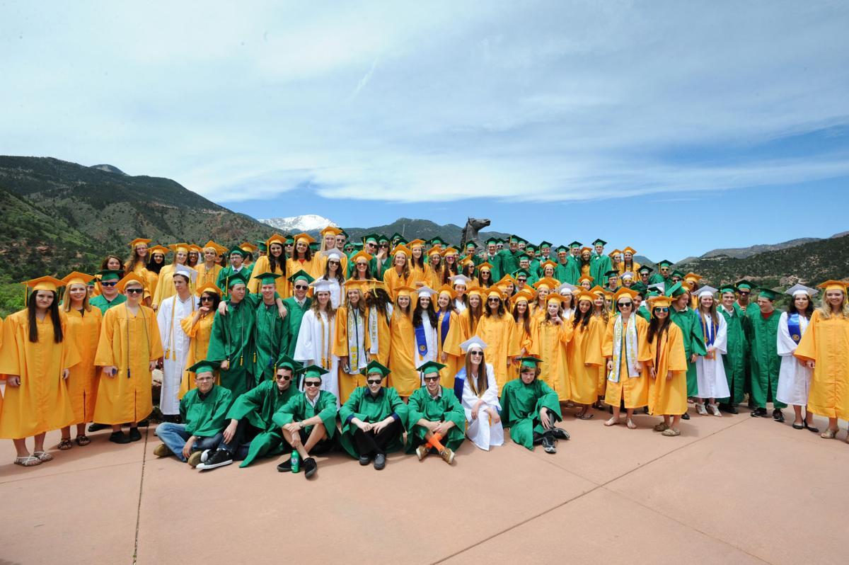 Manitou Springs High School Graduation