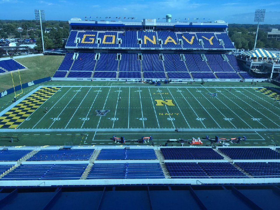 Pregame notes and observations: Air Force at Navy