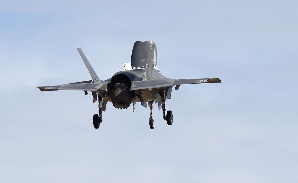 u s military suspends operations of f 35 fighter jets citing