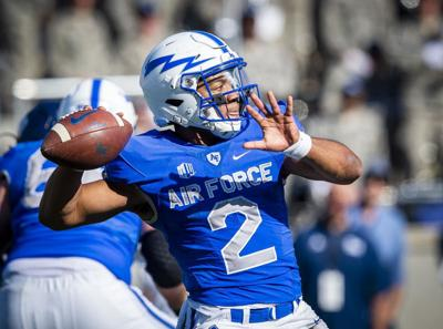 Air Force Falcons fall to Nevada Wolf Pack by an inch
