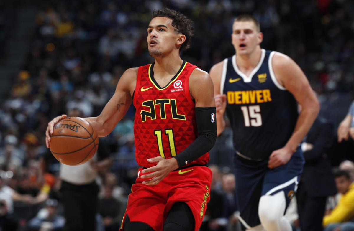 Hawks Nuggets Basketball