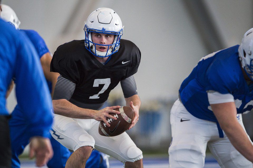 Sophomore quarterback Miller Mosley leaves Air Force Academy