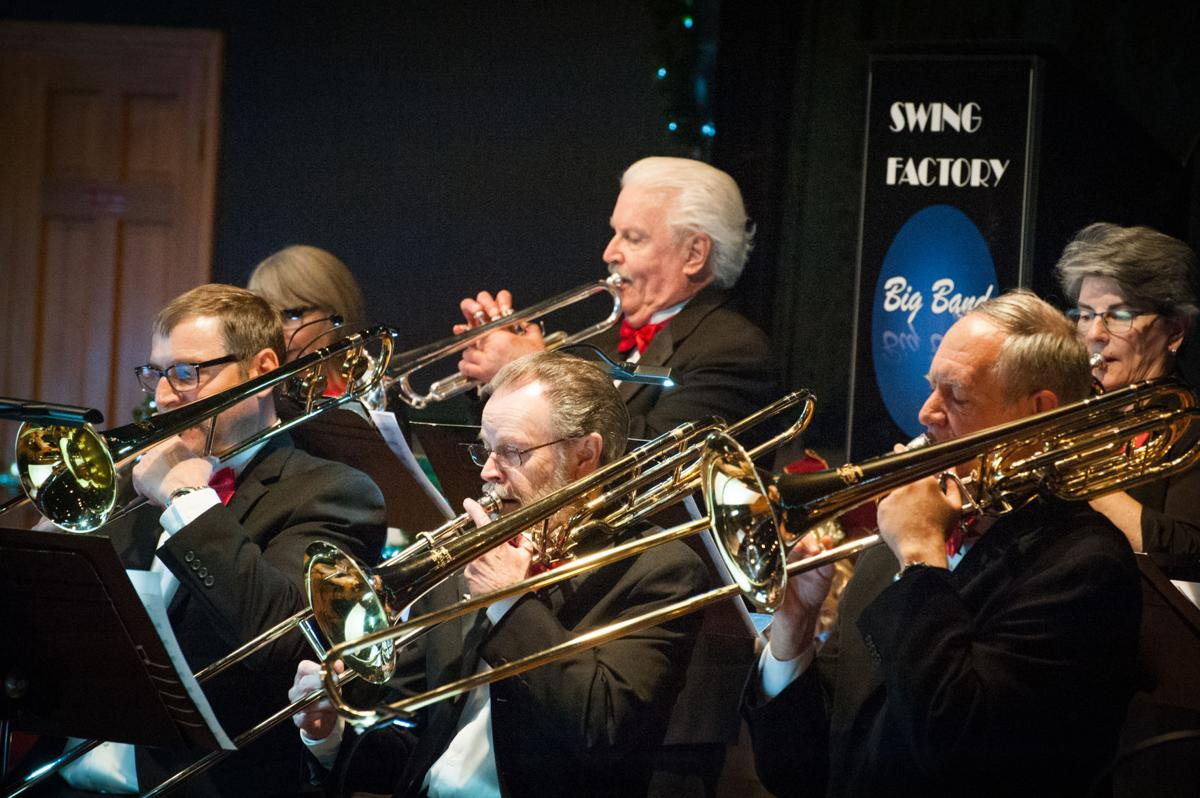 Swing Factory Big Band brings the sounds of a Snazzy Jazzy Christmas to Woodland Park (copy)