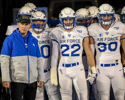Air Force dominates Utah State