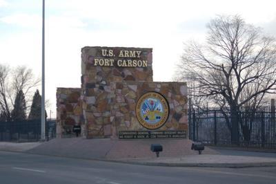 Fort Carson main gate