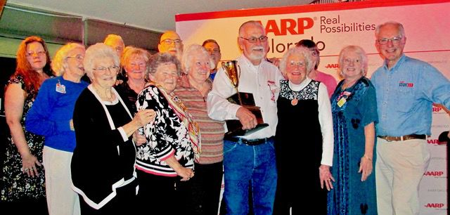 AARP Chapter 1100 members honored at state awards ceremony
