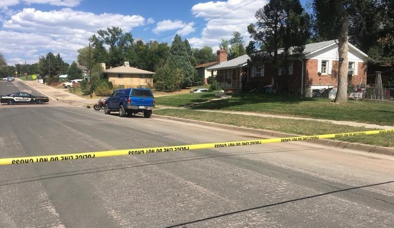 death investigation on Howard Ave