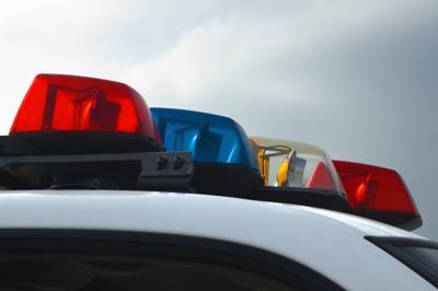 Police Car Lights Close-up (copy)