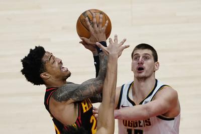 Nuggets Hawks Basketball Jokic