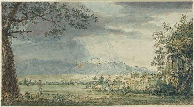 Pikes Peak in the Rain
