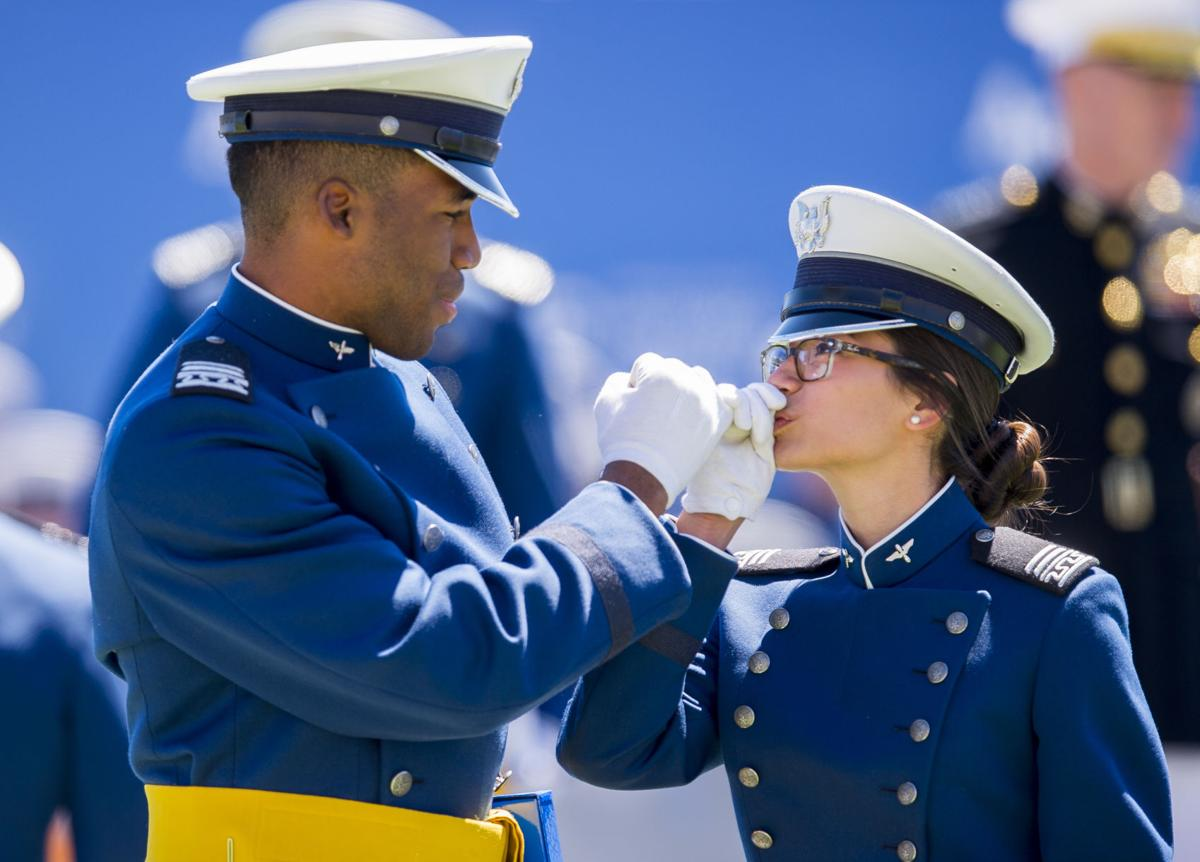 Video replay: Watch the 2018 Air Force Academy graduation