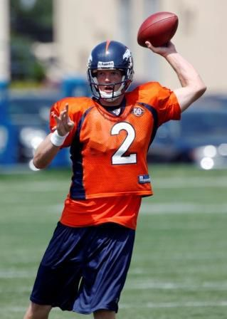 Broncos' Simms continues comeback after spleen injury