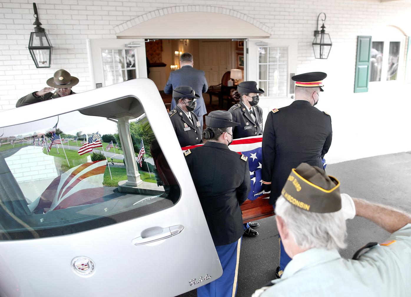 Body of soldier returns to Janesville