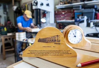 Memory time: GM wood preserved in Janesville-made clocks