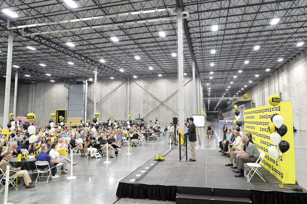 Dollar General cuts the ribbon on Janesville distribution center