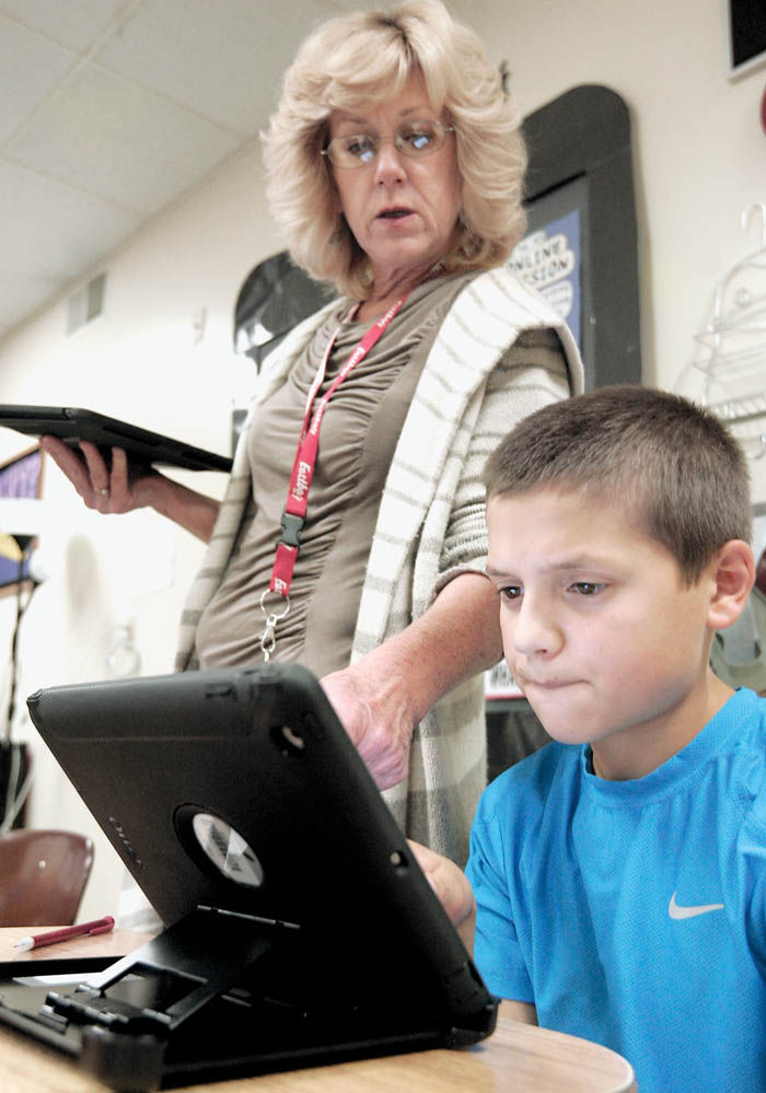 At Milton Middle School, every student, teacher gets an iPad