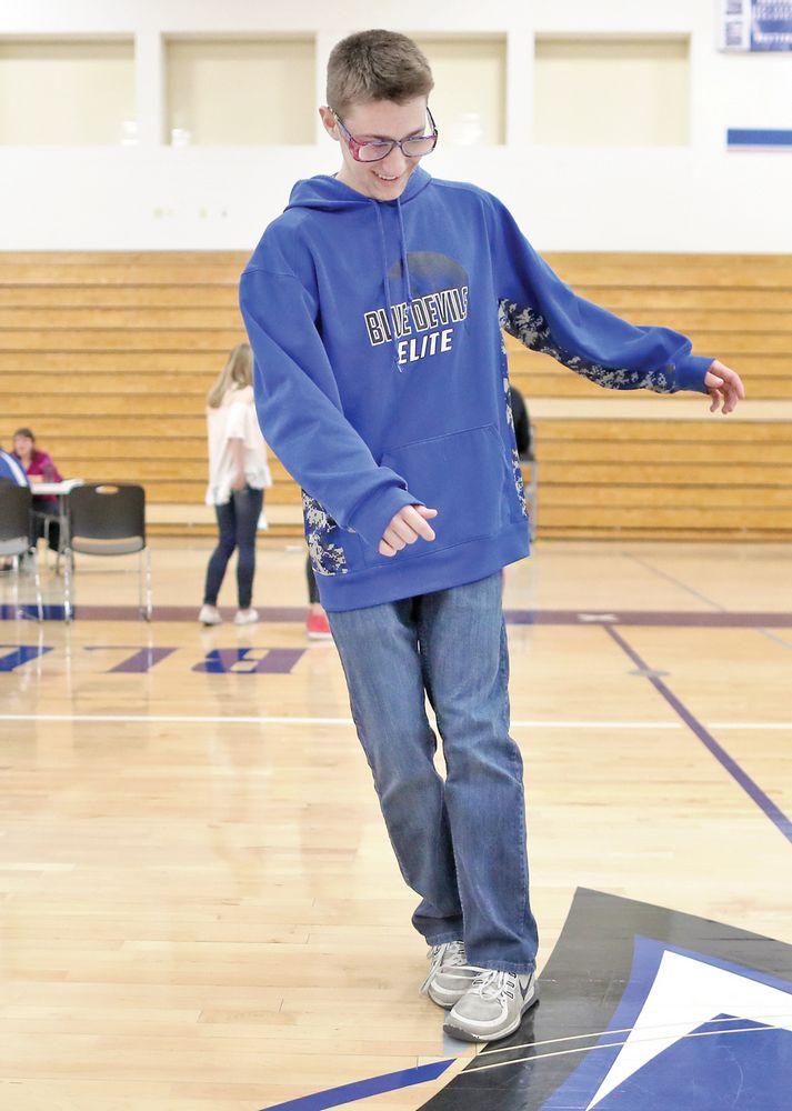 Evansville High School's Reality Maze teaches freshmen dangers of risky behavior