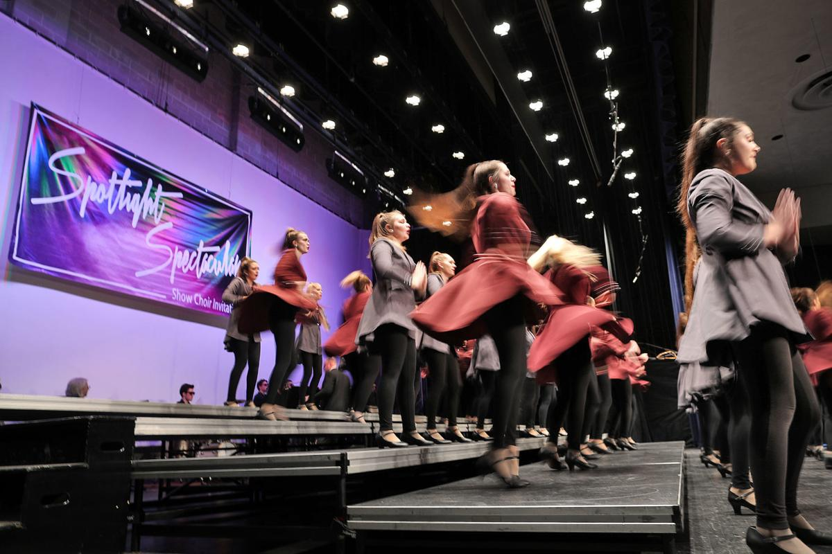 Show choirs bring the show to Craig High School