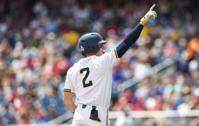 CWS Texas Tech Michigan Baseball