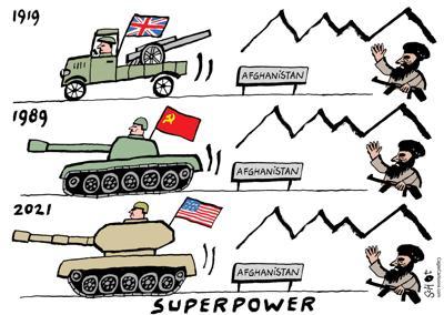 Superpowers vs. Afghanistan