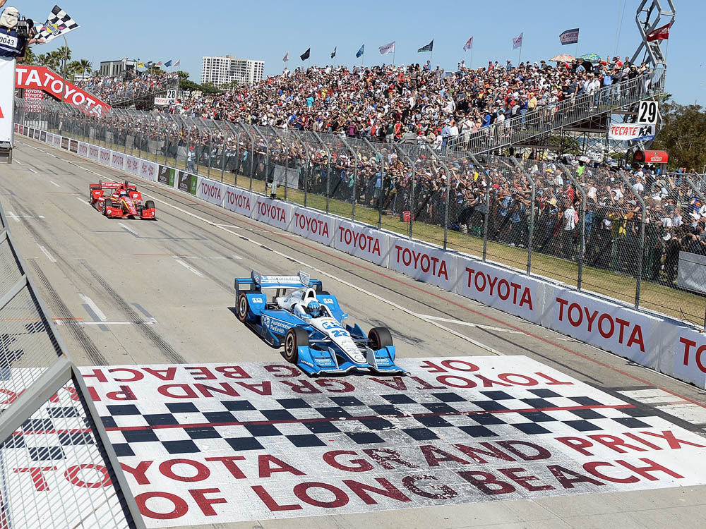 Fuel & Tires: Controversy for IndyCar; Edwards flips for Bristol