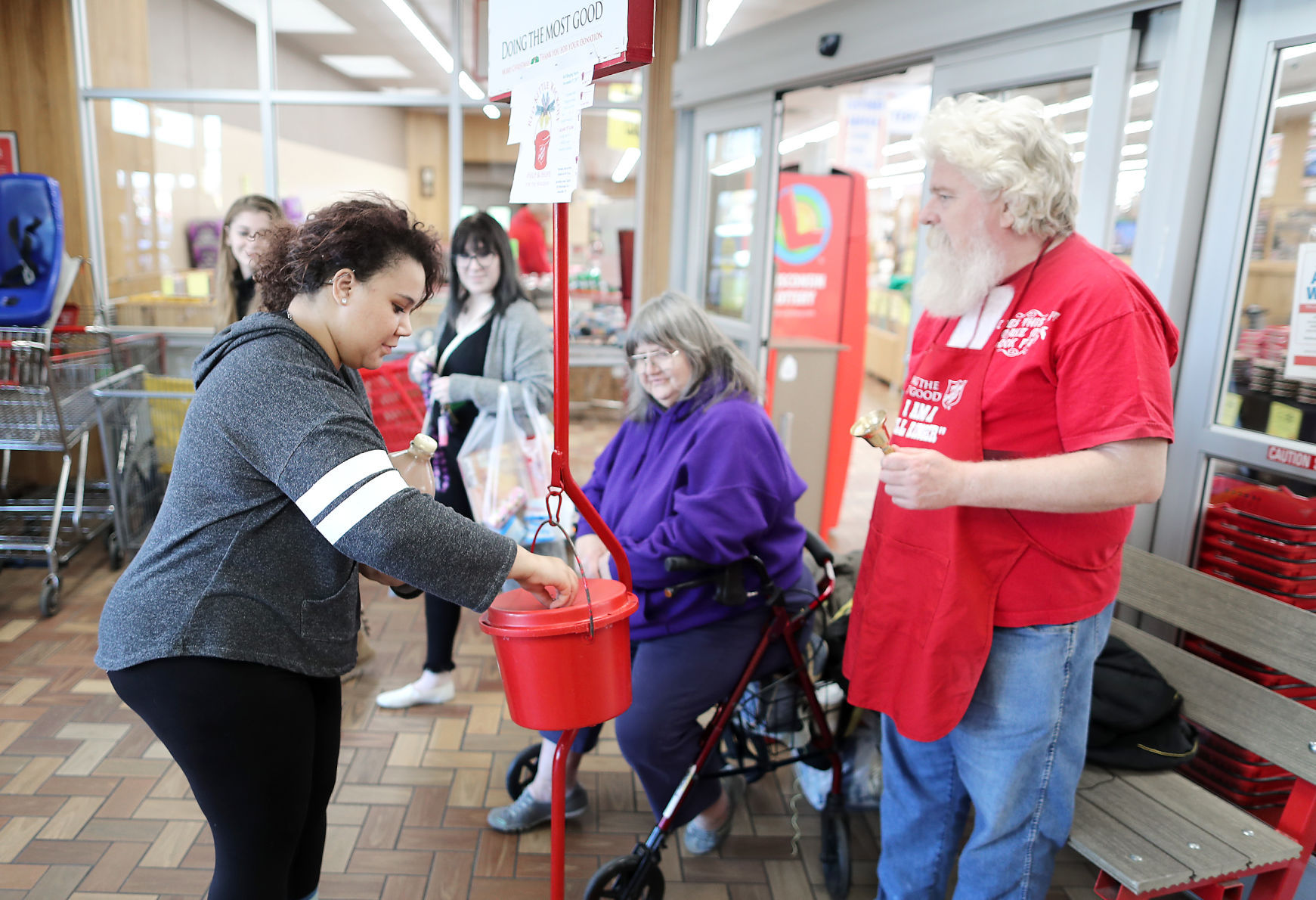 Janesville Salvation Army red kettle effort short of goal Local