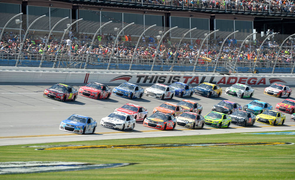 Fuel & Tires: Cup heads to Talladega; Kvapil gets new sponsor; local action